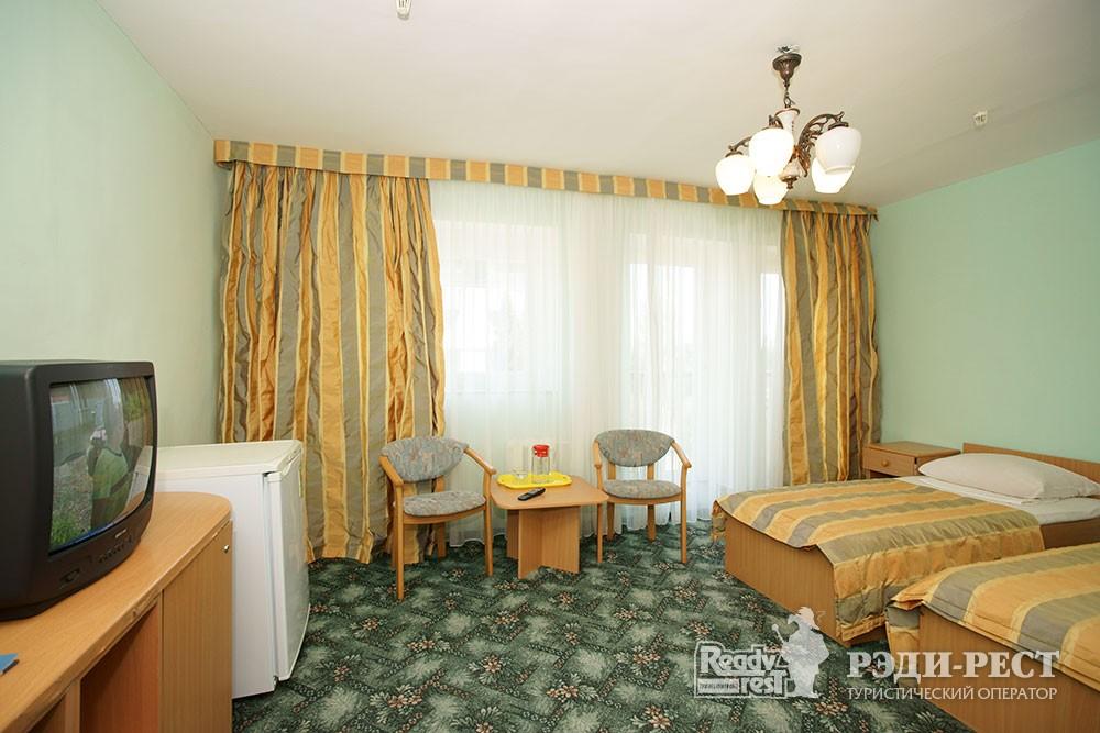 Туристско-оздоровительный комплекс Приморье. стандарт 2-местный, корпус 2