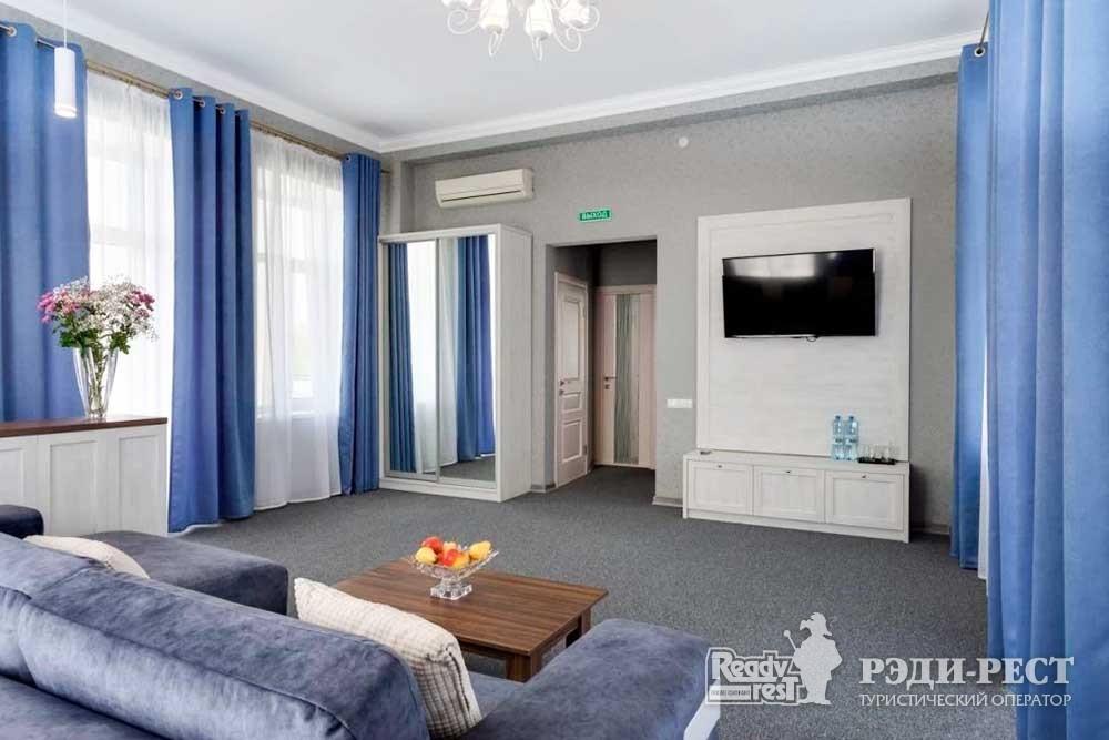 Cанаторий Золотой Берег Люкс 2-комнатный с террасой