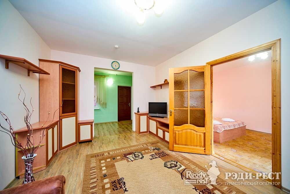 Гостиница Омега-Клуб Комфорт 2-комнатный, коттедж