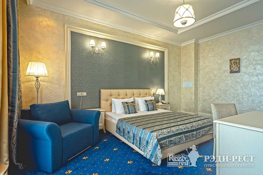 Cанаторно-курортный комплекс Сосновая роща 4*. Suite SV, корпус Альбатрос