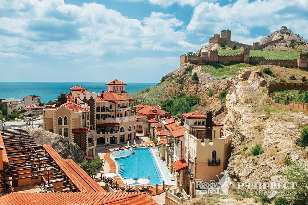 Курортный отель Солдайя Гранд 4*. Восточный Крым