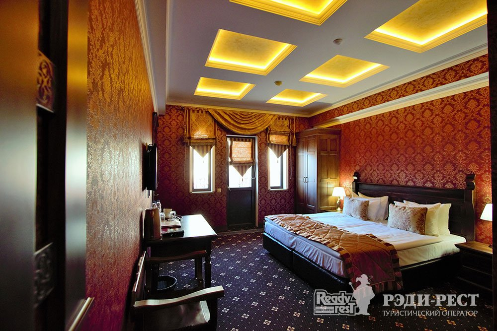 Курортный отель Солдайя Гранд 4*. Комфорт семейный