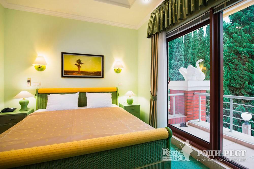 Отель Море 4*. Дуплекс с 2 спальнями