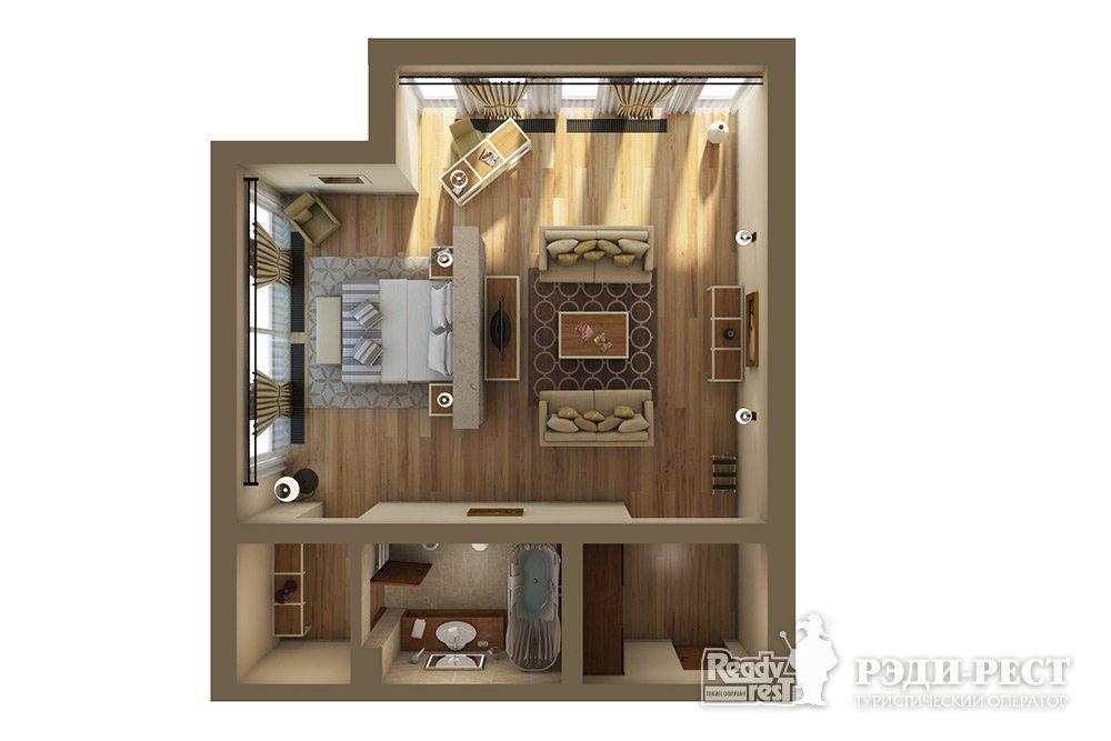Апарт-отель Крымский Бриз 5* Делюкс улучшенный