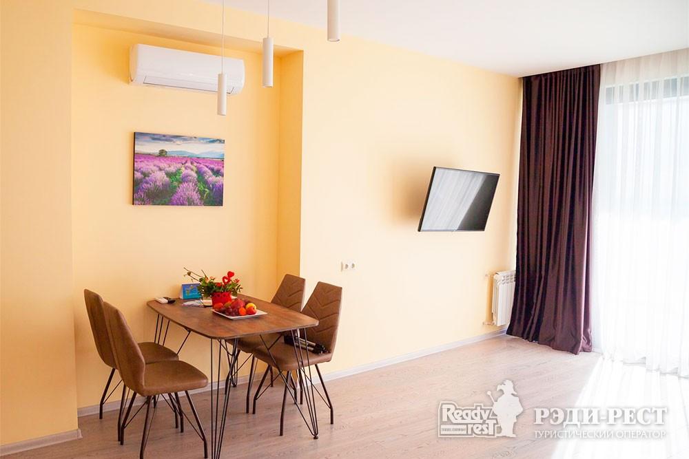 Апарт-отель Гурзуф Ривьера Улучшенный апартамент-студио<br><br> с видом на море (214)