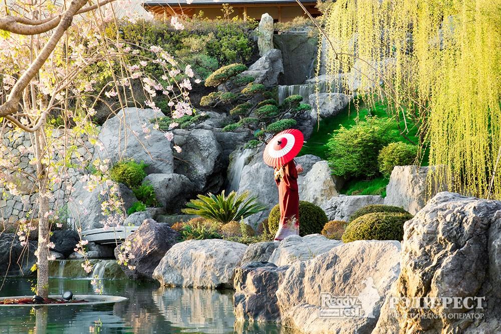 Cанаторно-курортный комплекс Мрия Резорт & СПА 5*. Большая Ялта Японский сад