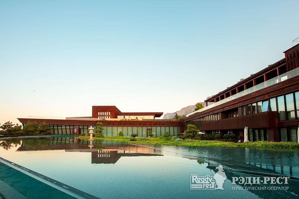 Cанаторно-курортный комплекс Мрия Резорт & СПА 5*. Большая Ялта Клиника