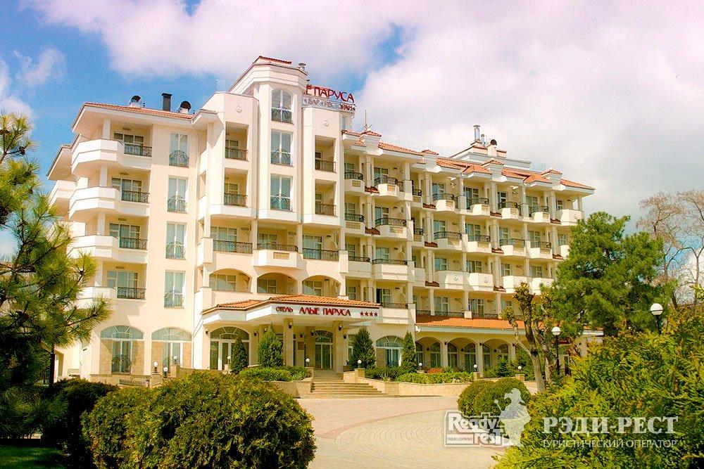 Курортный комплекс Алые Паруса 4*. Восточный Крым
