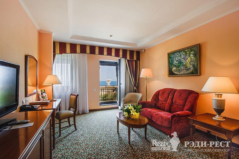 Гостиница Ореанда 5* Люкс с видом на море