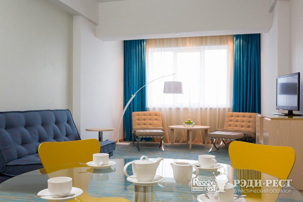 Гостиничный комплекс Ривьера Санрайз 4+*. Люкс, корпус Modern