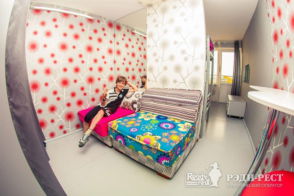 Международный Молодежный Центр Ай-Кэмп 4-местный номер с удобствами