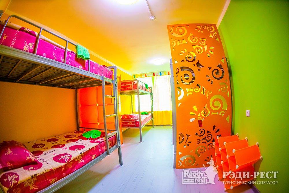 Детский Оздоровительный Лагерь Мандарин. 6-местный номер с удобствами