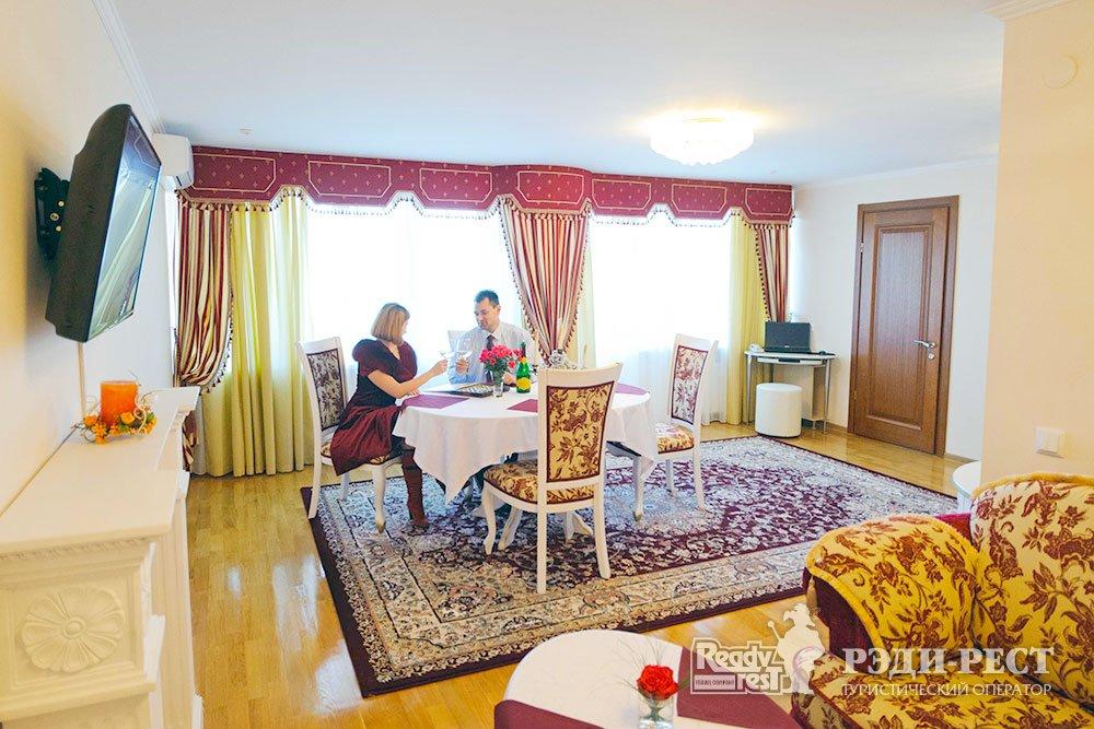 Cанаторий Сакрополь 4*. VIP-Люкс с кухней