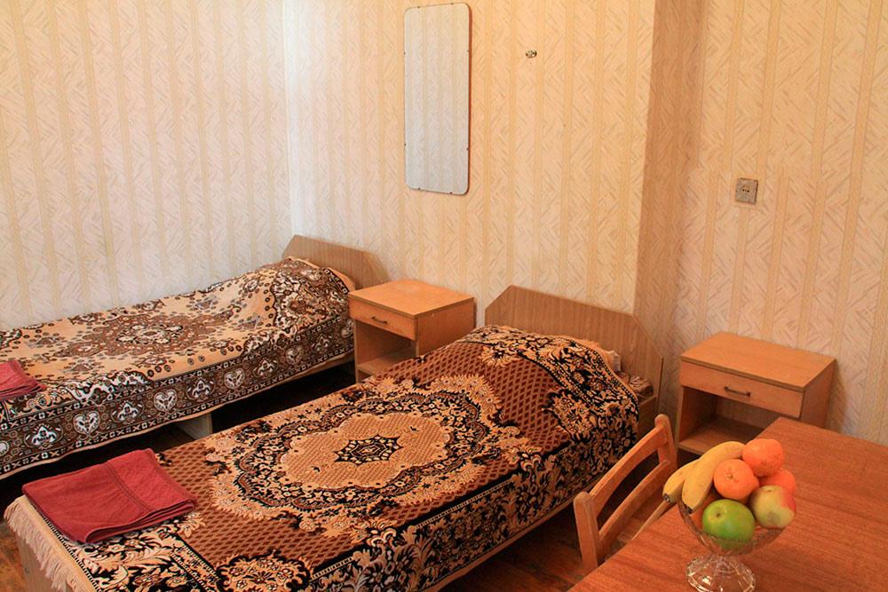Гостиничный комплекс Юстас-Крым. Эконом, вид на парк, без балкона, корпус 3