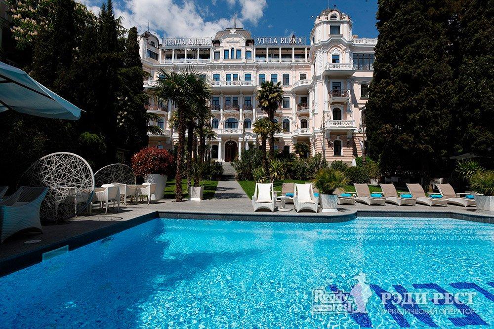 Отель и резиденции Вилла Елена 5*. Большая Ялта Вилла Елена