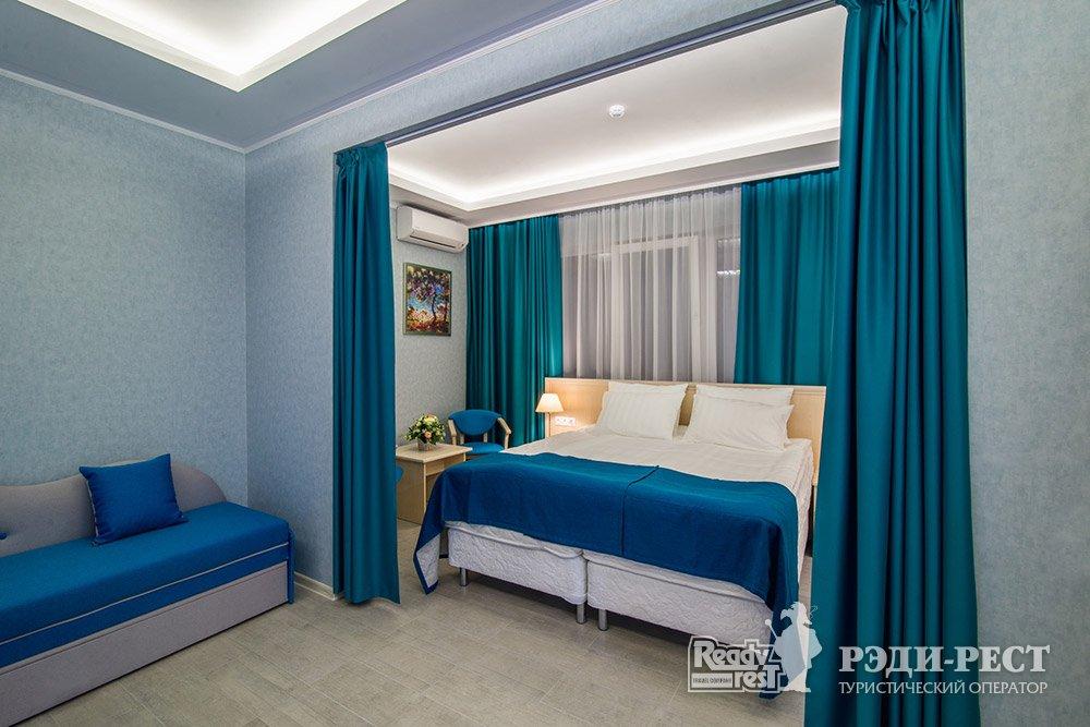 Аквапарк-отель Атлантида 3* Студия, вид на аквапарк