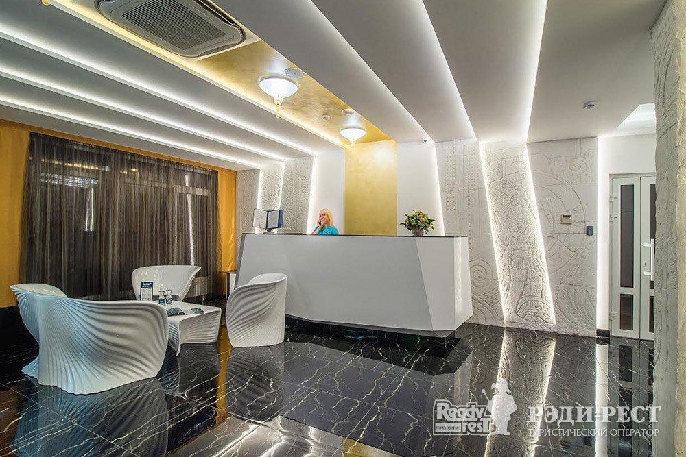 Аквапарк-отель Атлантида 3*. Большая Ялта Рецепция