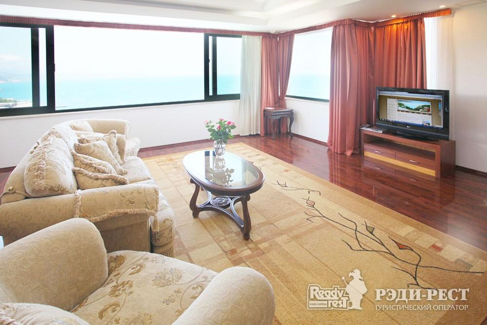 Отель Море 4*. Люкс панорамный