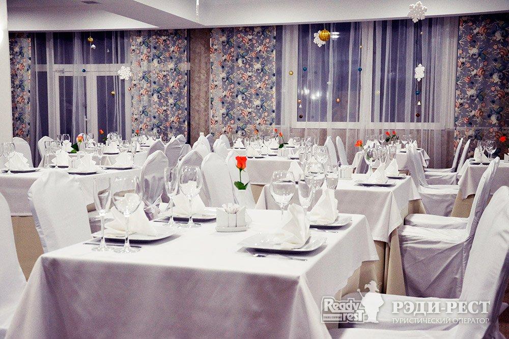 Аквапарк-отель Атлантида 3*. Большая Ялта Ресторан