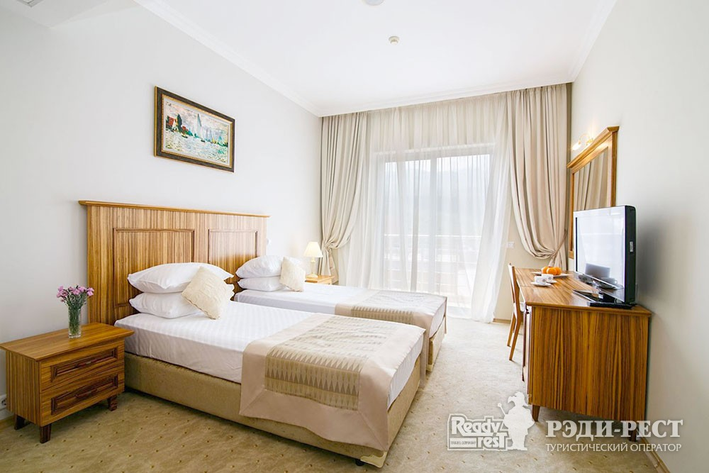 Отель Море 4* Люкс с 2 спальнями