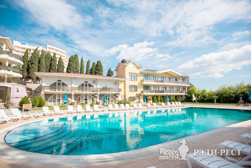 Парк-отель Демерджи. Большая Алушта