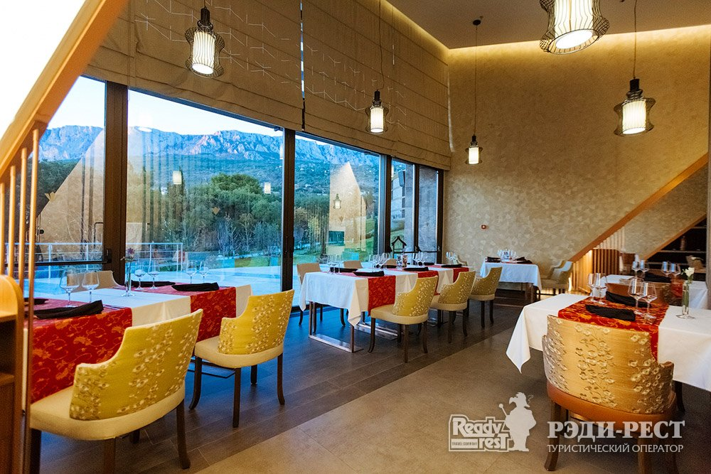 Cанаторно-курортный комплекс Мрия Резорт & СПА 5*. Большая Ялта Мандарин. Азиатская-кухня