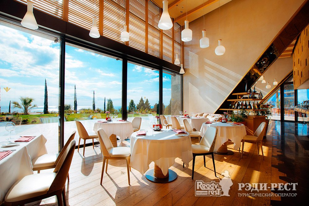 Cанаторно-курортный комплекс Мрия Резорт & СПА 5*. Большая Ялта Ресторан Оливо