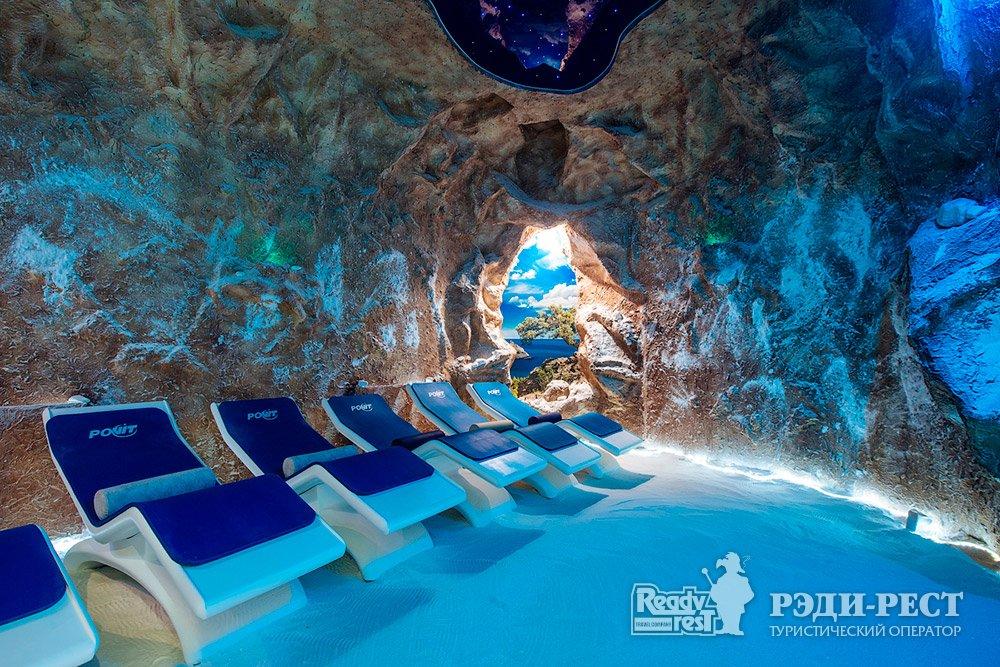 Cанаторно-курортный комплекс Мрия Резорт & СПА 5*. Большая Ялта Соляная пещера