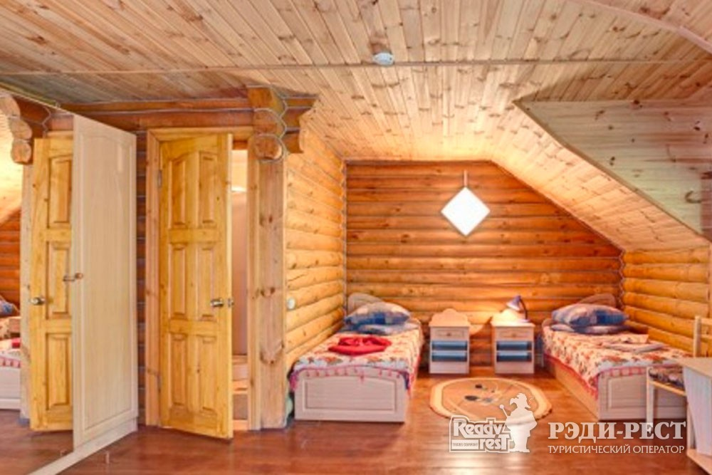 Cанаторий Полтава-Крым 3* 2-местный Деревянный Сруб, корпус 7