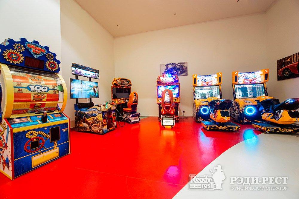 Cанаторно-курортный комплекс Мрия Резорт & СПА 5*. Большая Ялта Развлекательный центр