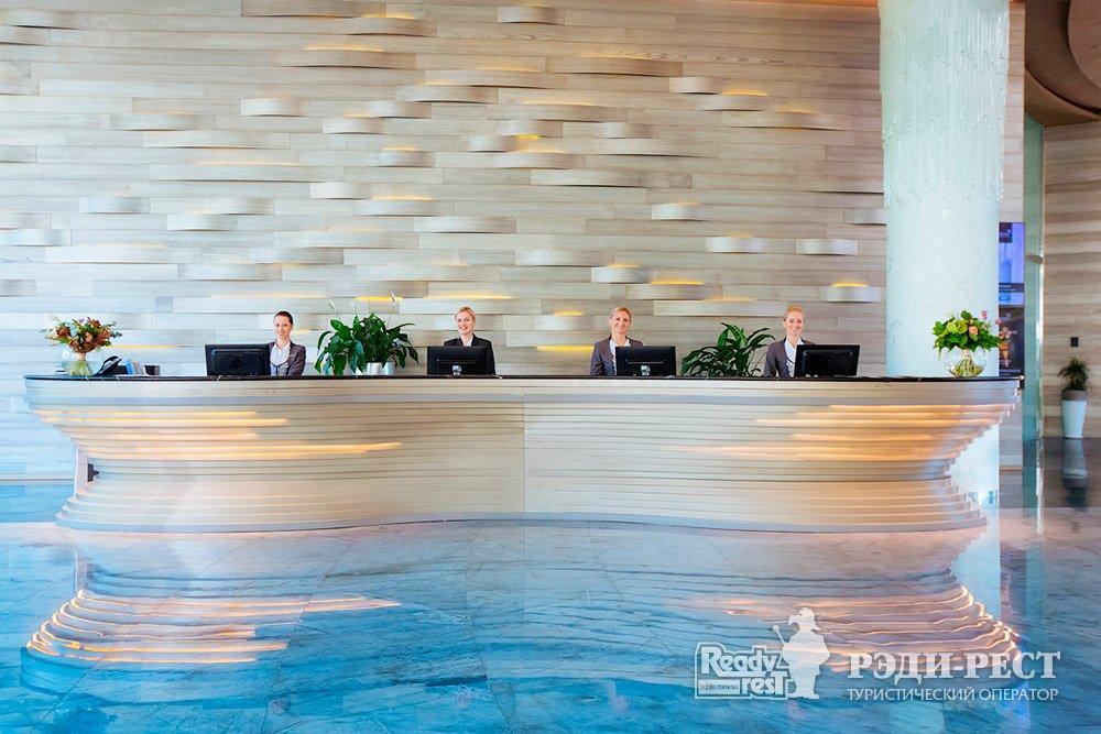 Cанаторно-курортный комплекс Мрия Резорт & СПА 5*. Большая Ялта Служба приема и размещения