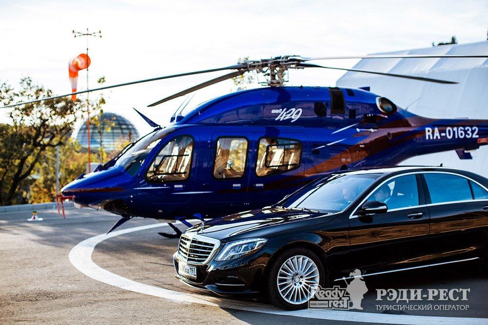 Cанаторно-курортный комплекс Мрия Резорт & СПА 5*. Большая Ялта Аренда авто, вертолета