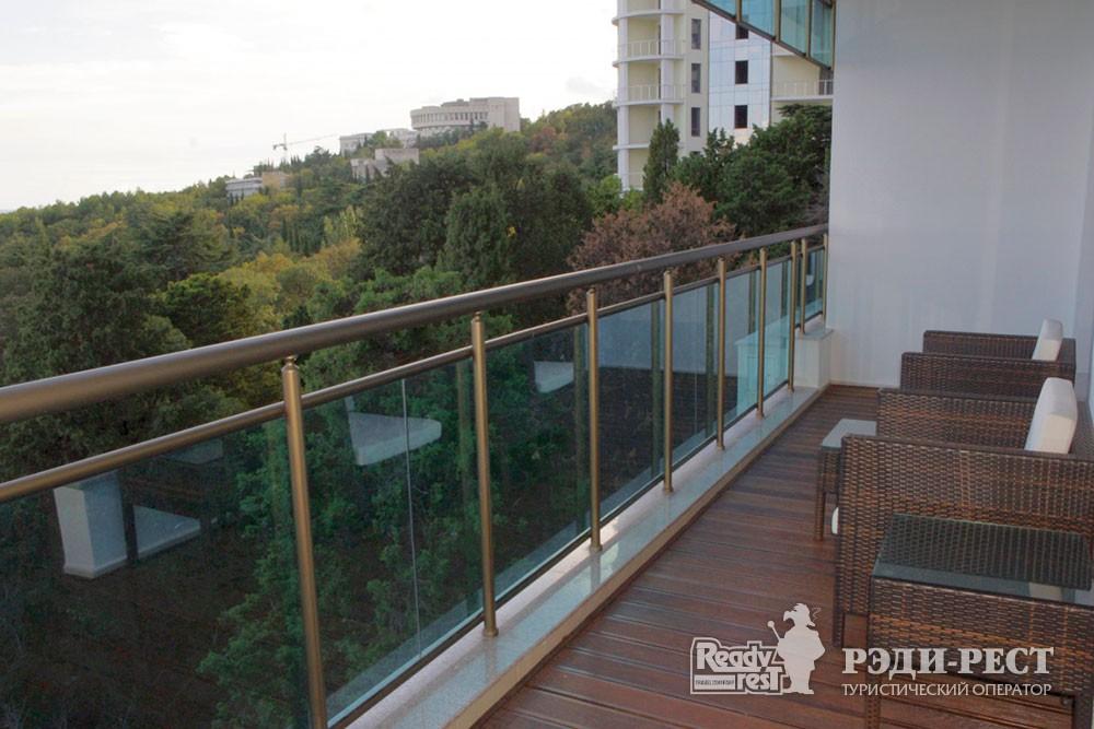 Спа-отель Приморский парк 4* Апартаменты, корпус Парус