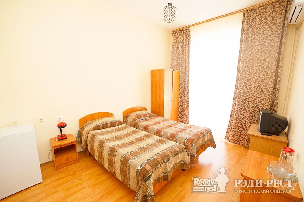 Туристско-оздоровительный комплекс Судак. 1-комнатный 2-местный (корпус №2)
