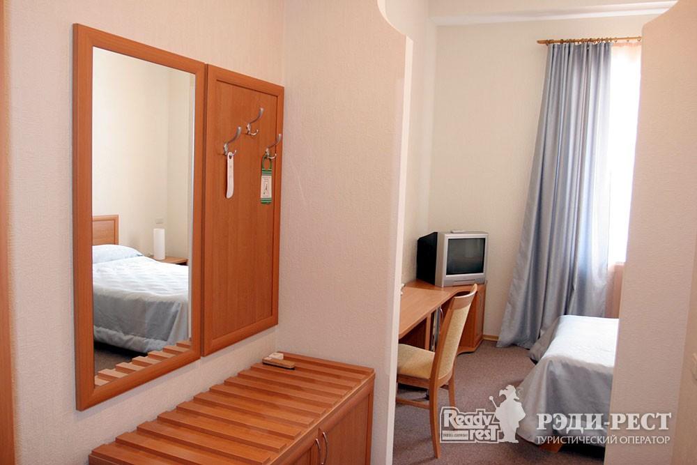 Отель Даккар 3*. Стандарт 1-местный