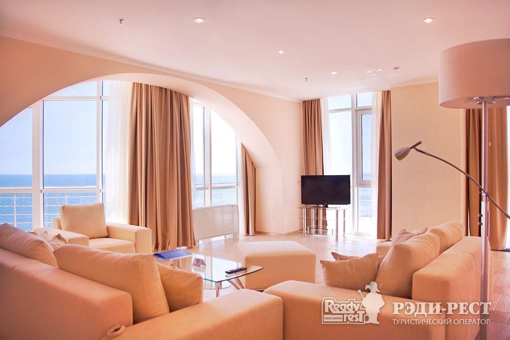 Гостиничный комплекс Бухта Мечты Апартамент Президентский, море
