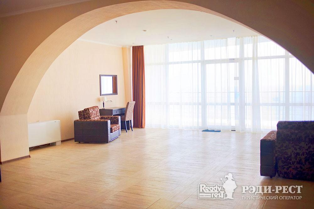 Гостиничный комплекс Бухта Мечты Люкс море