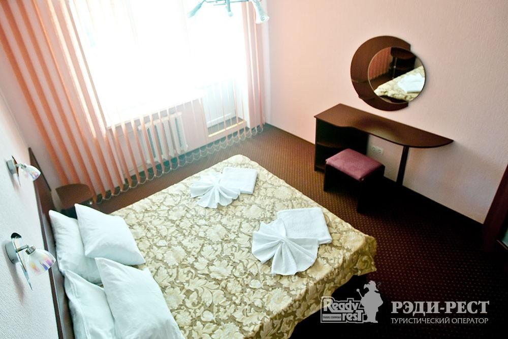 Пансионат Голубой залив 2-местный 2-комнатный 1-категории