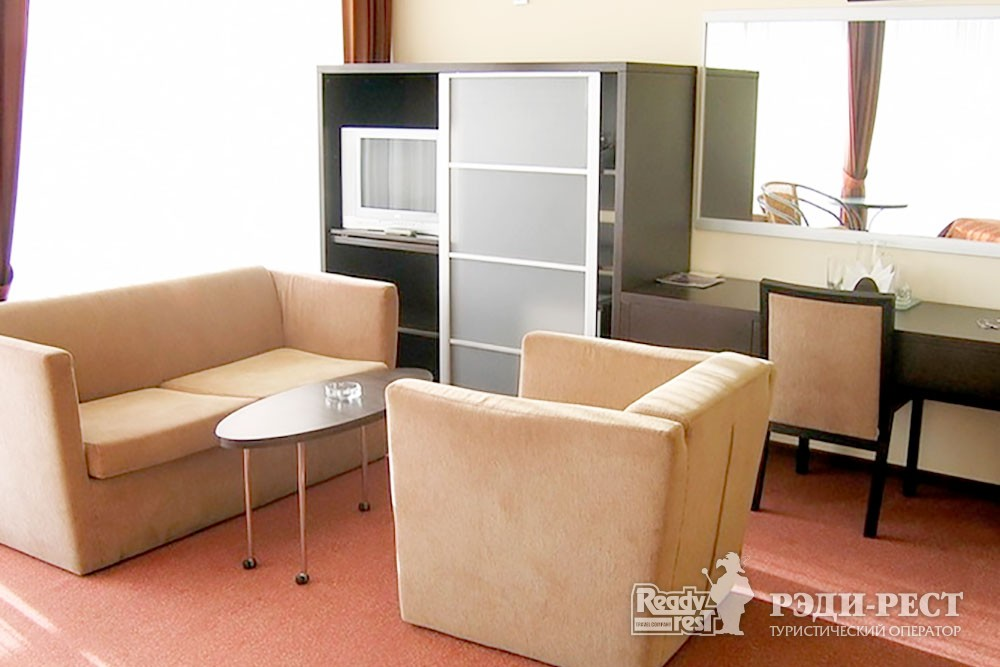 Отель Аквапарк 4* Панорамный 2-местный