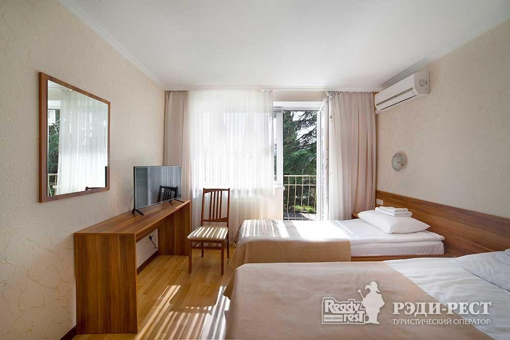 Парк-отель Песочная Бухта 3-4* Двухместный стандарт, корпус Антей