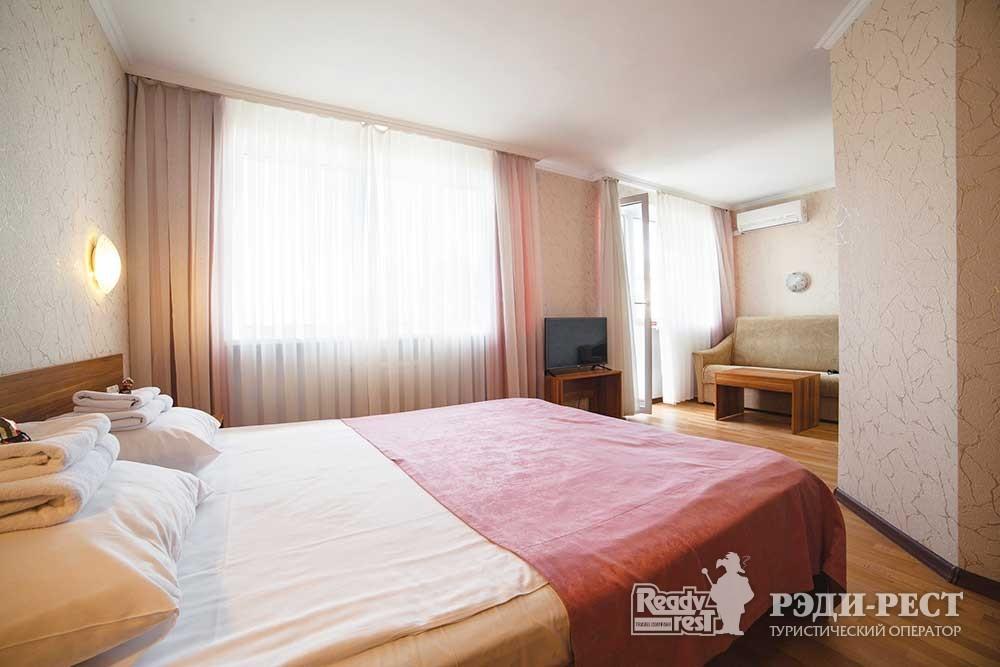 Парк-отель Песочная Бухта 3-4* Улучшенный 2-местный, корпус Антей