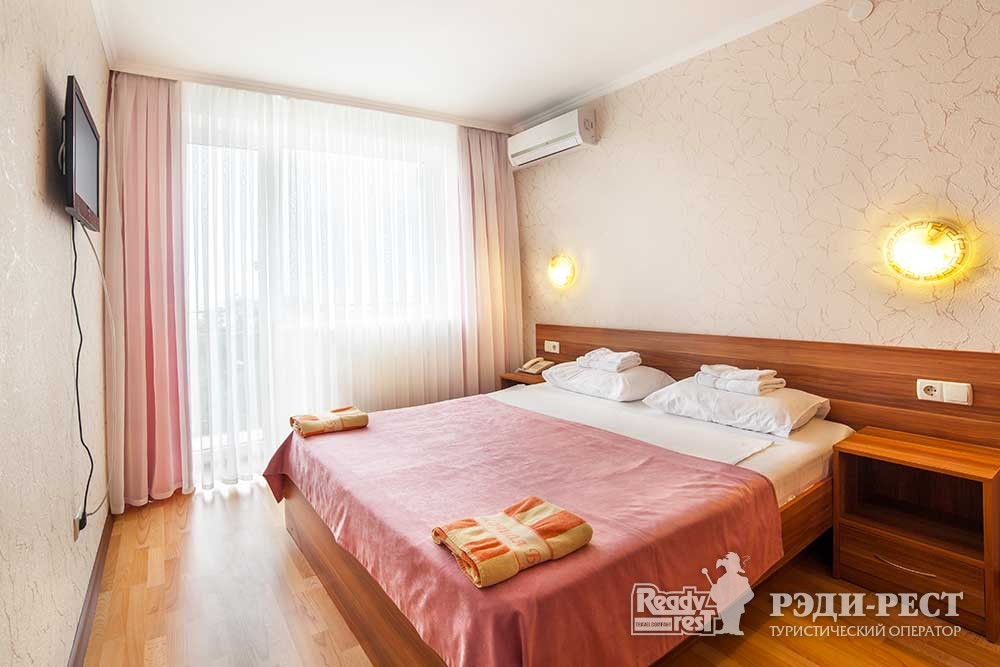 Парк-отель Песочная Бухта 3-4* Улучшенный 2-комнатный, корпус Антей