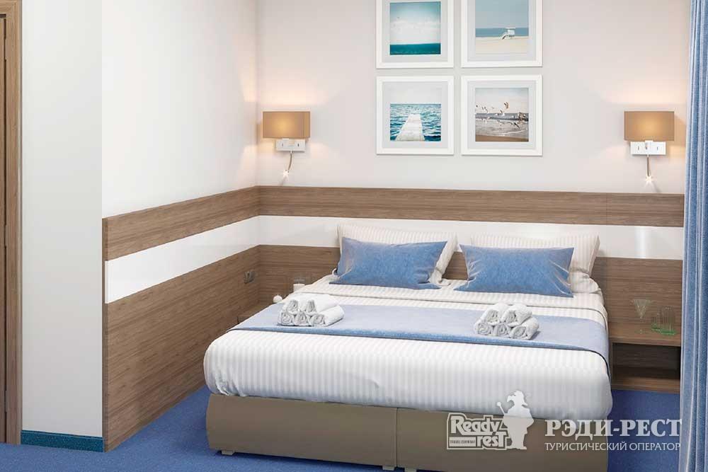 Парк-отель Песочная Бухта 3-4*. Двухместный стандарт, корпус Одиссей
