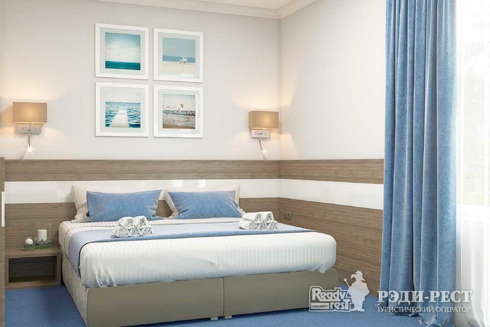 Парк-отель Песочная Бухта 3-4* Двухместный стандарт, корпус Одиссей