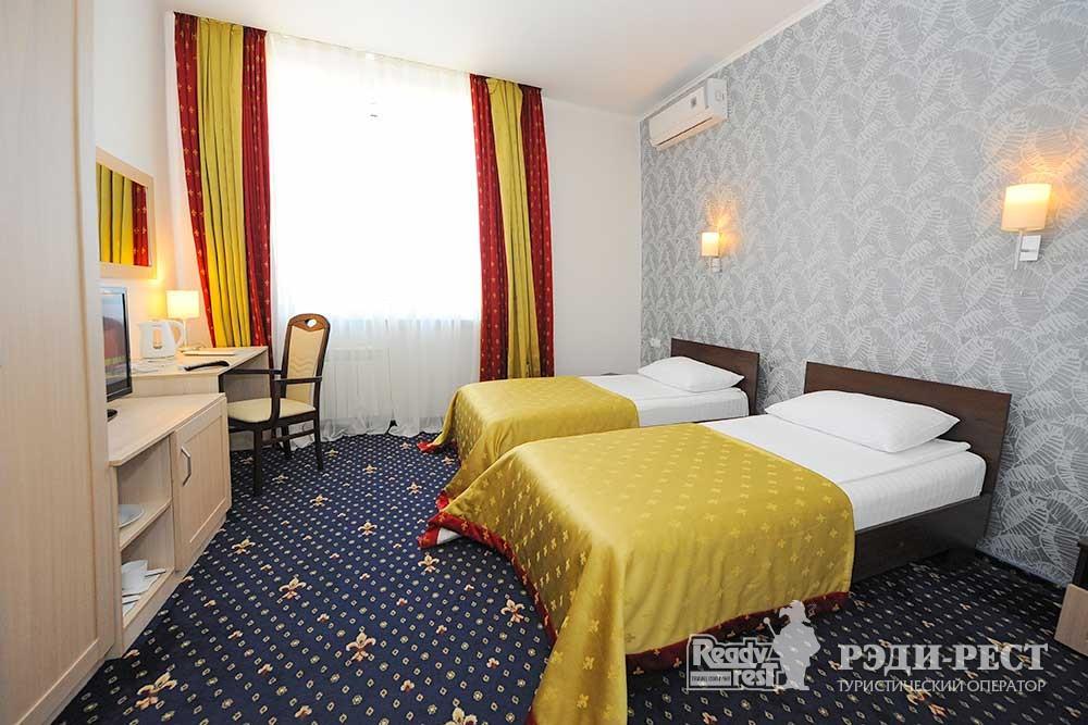Парк-отель Песочная Бухта 3-4* Двухместный стандарт, корпус Посейдон