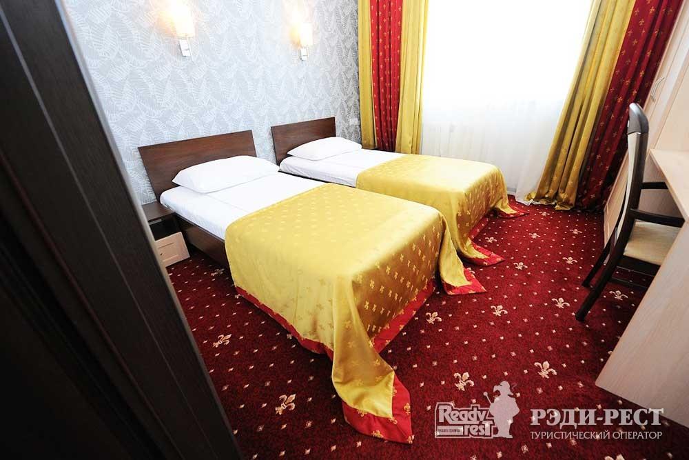 Парк-отель Песочная Бухта 3-4* Улучшенный 2-комн., корпус Посейдон