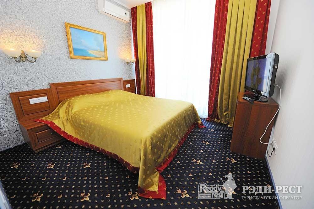 Парк-отель Песочная Бухта 3-4*. Люкс 2-комнатный, корпус Посейдон