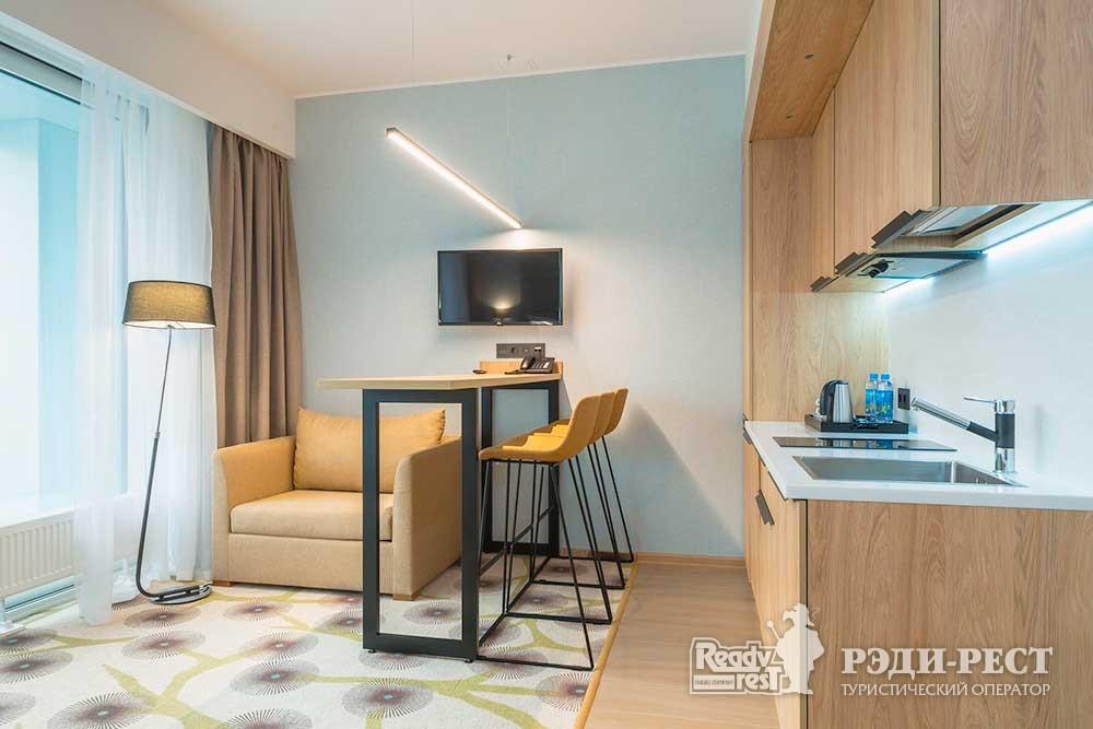 Спа-отель Приморский парк 4* Делюкс с кухней, корпус Лето