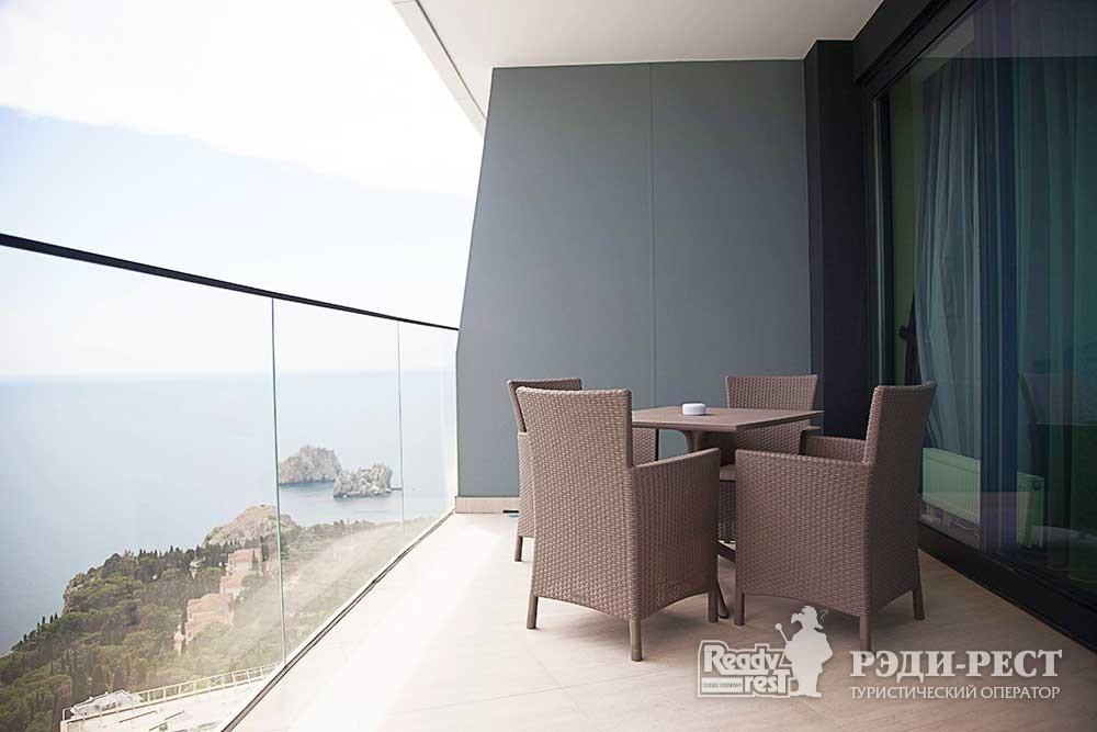Апарт-отель Гурзуф Ривьера Апартамент, вид на море <br><br>(803,804,805,806)