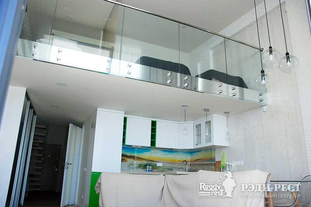 Апарт-отель Гурзуф Ривьера Апартамент двухуровневый (108)